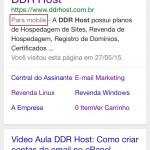 Sites na versão Mobile podem receber um Impulso nos Resultados do Google